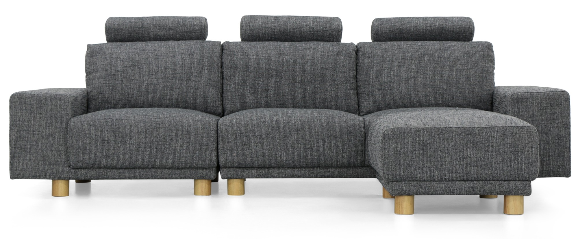 3 seater fabric sofa grey how to make a rv bed presley with ottoman furniture