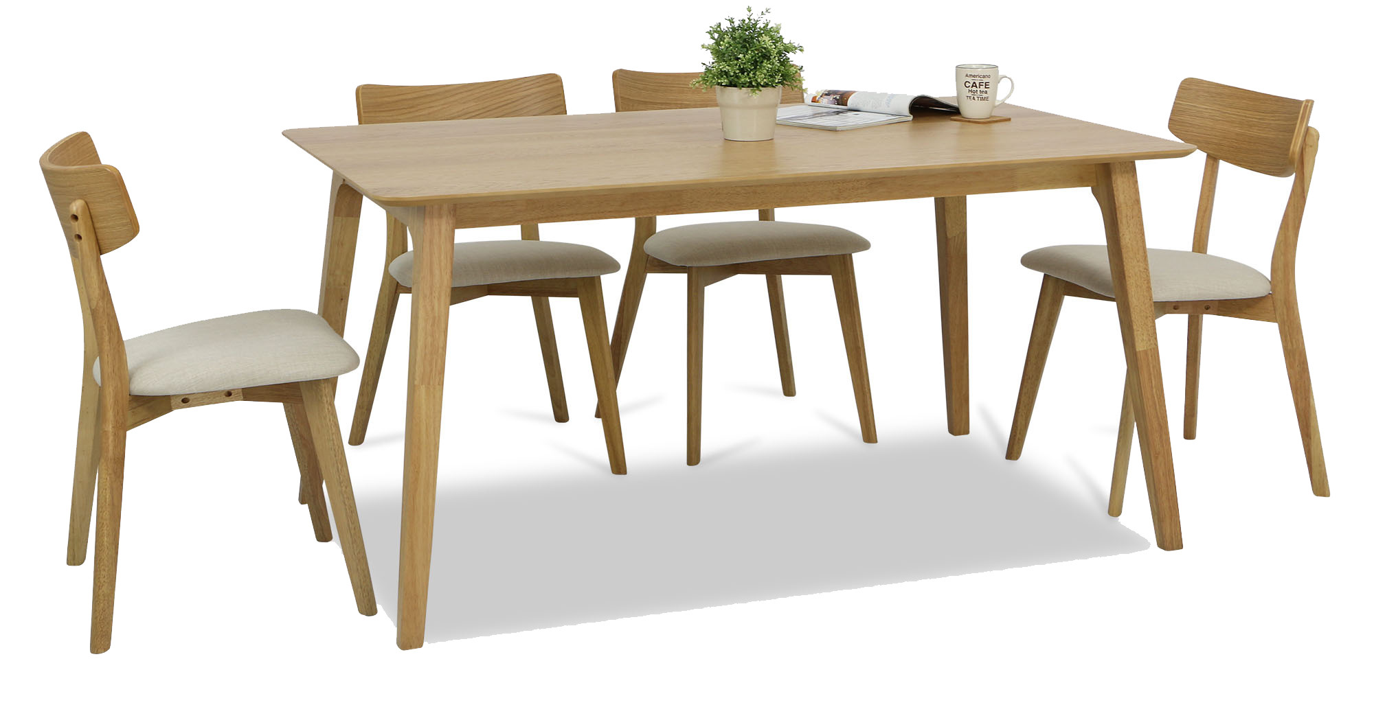 oak kitchen table sets pfister faucet repair loto dining set a 1 4 furniture home decor fortytwo 53 customer reviews