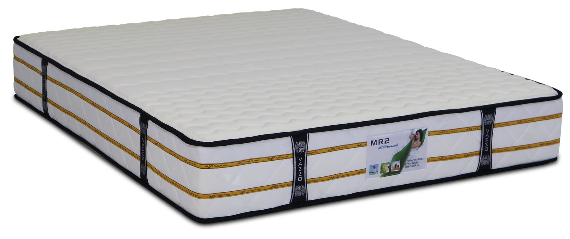 hight resolution of vazzo mr2 trizone individual pocketed spring mattress