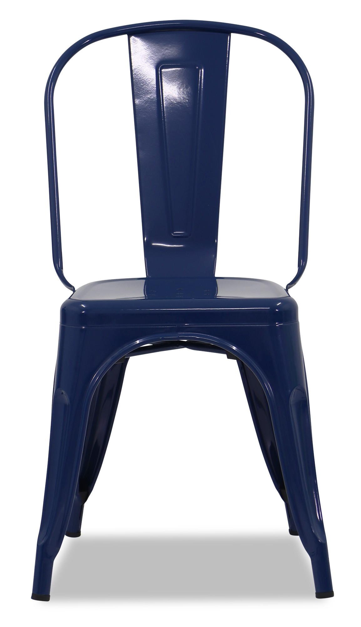blue metal chairs used knoll retro chair furniture and home décor fortytwo