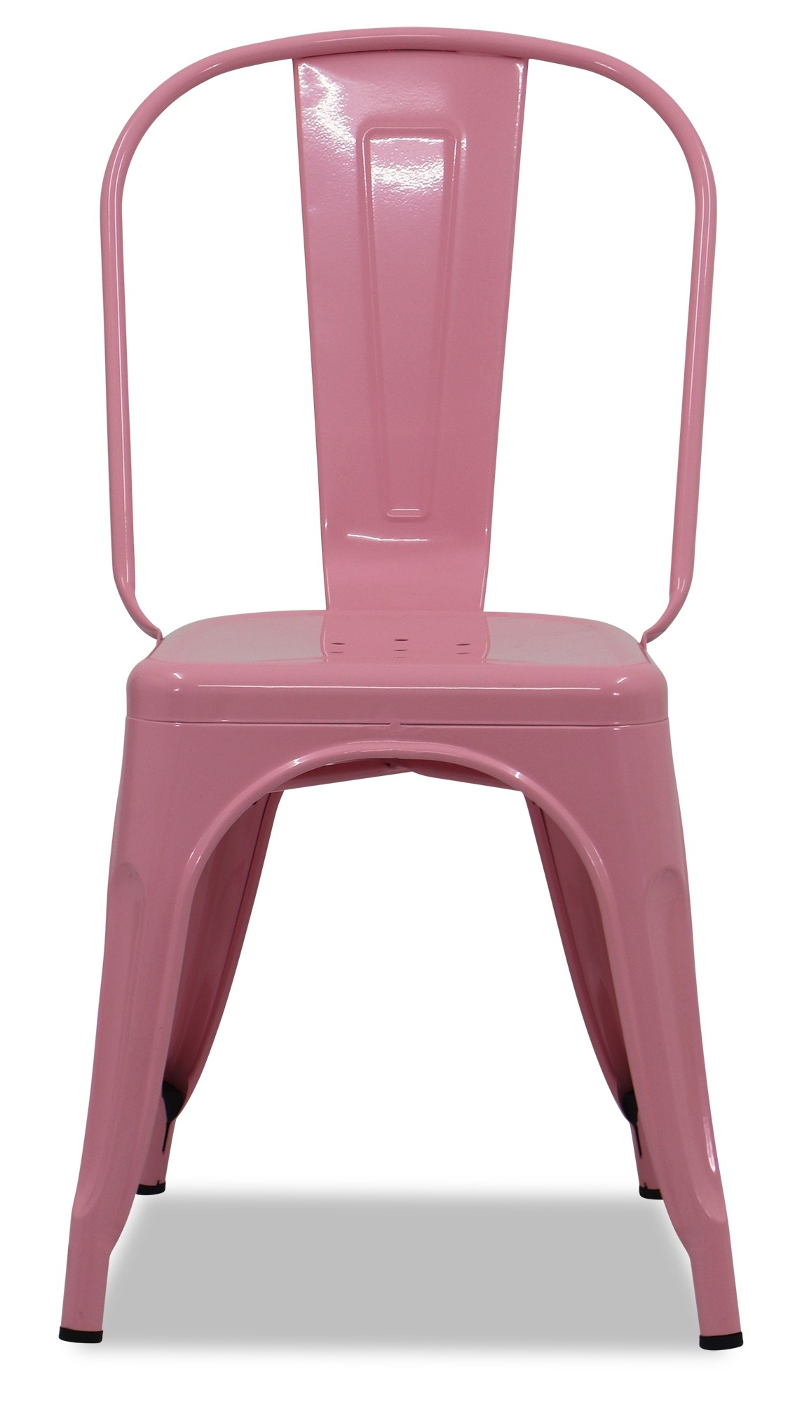 pale pink chair small round bistro table and chairs retro metal light seating furniture