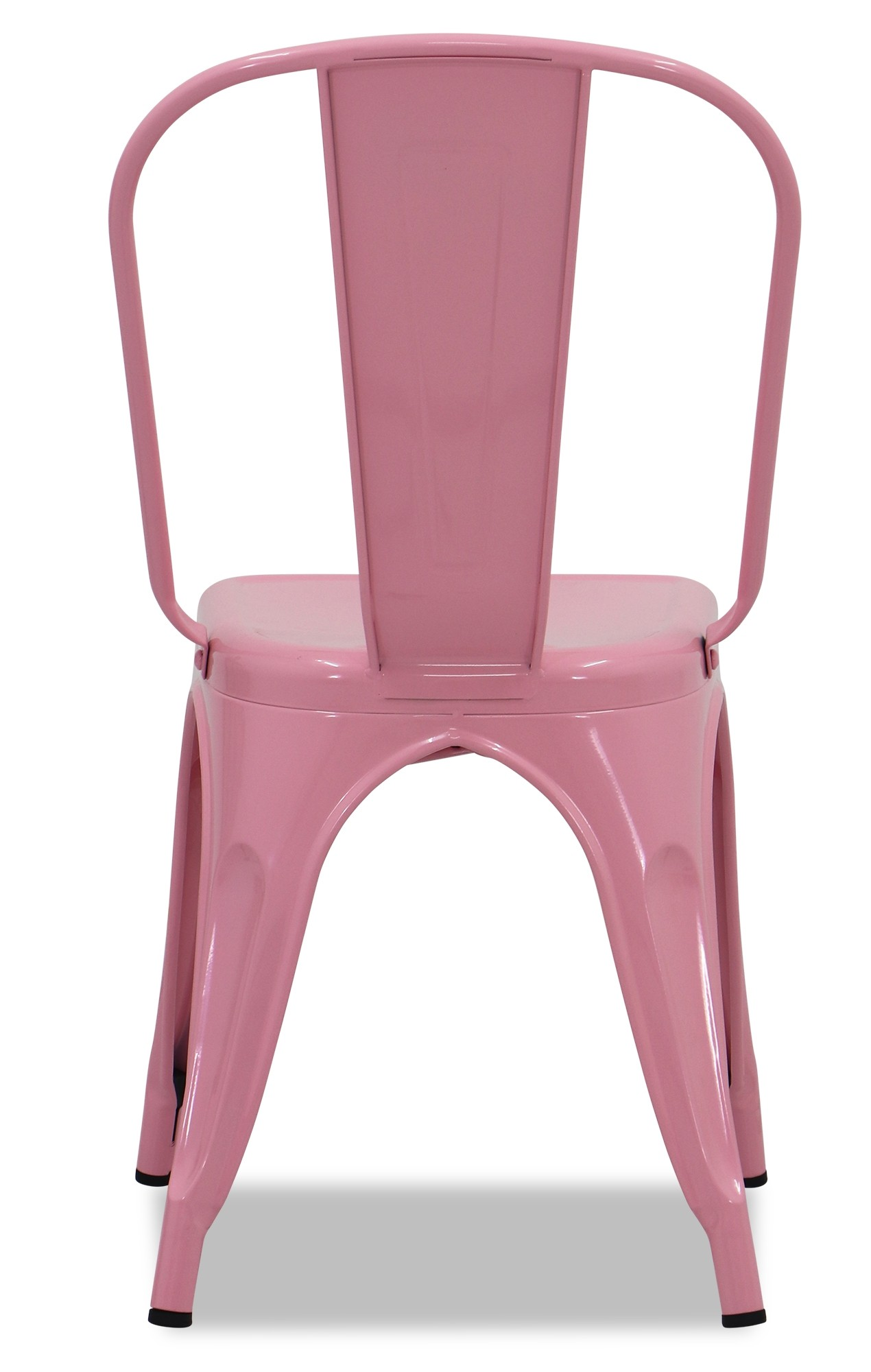 Retro Metal Chair Light Pink  Chairs  Living Room