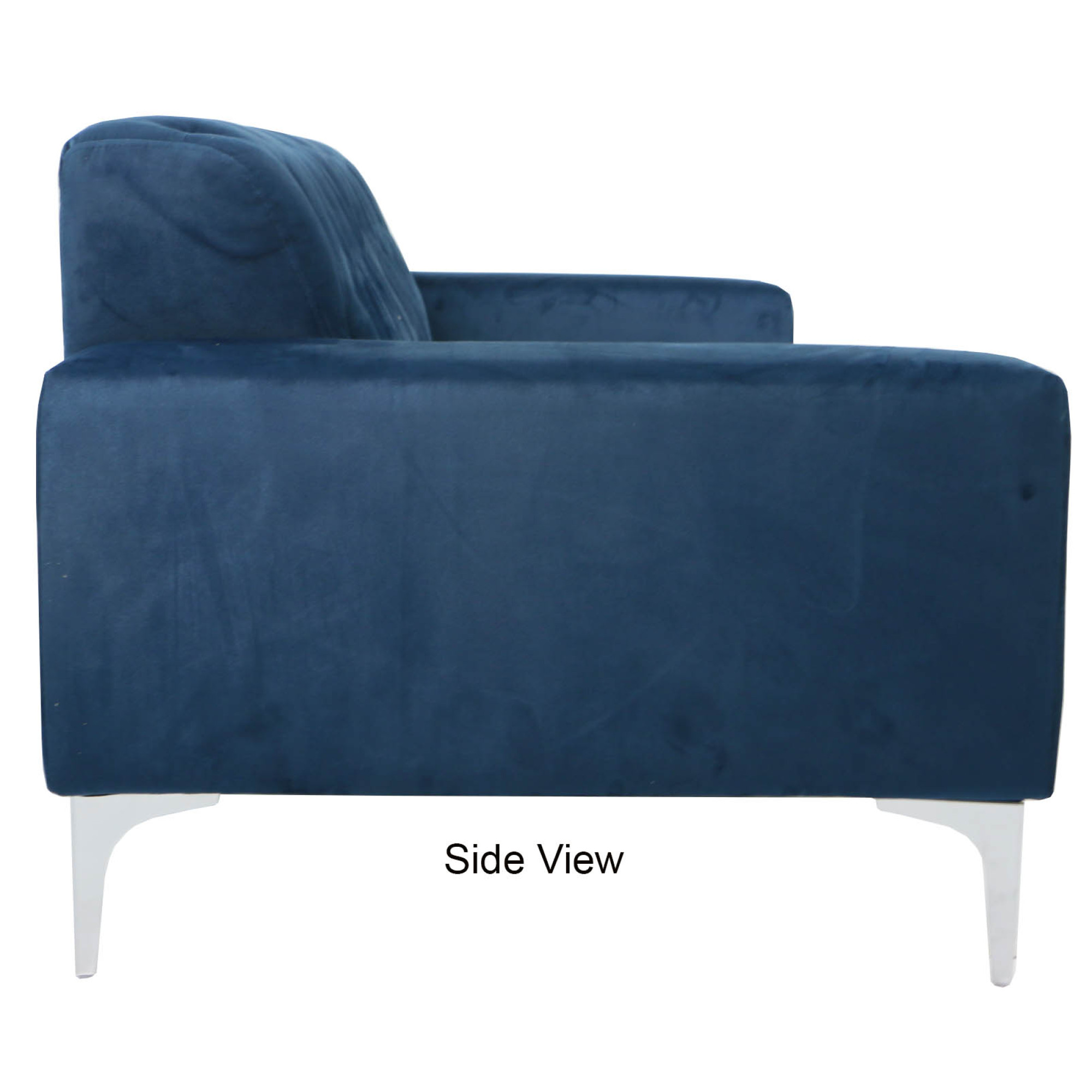 sofas dark blue modern sleeper sofa comfortable cecilie 3 seater furniture home decor fortytwo 20 customer reviews