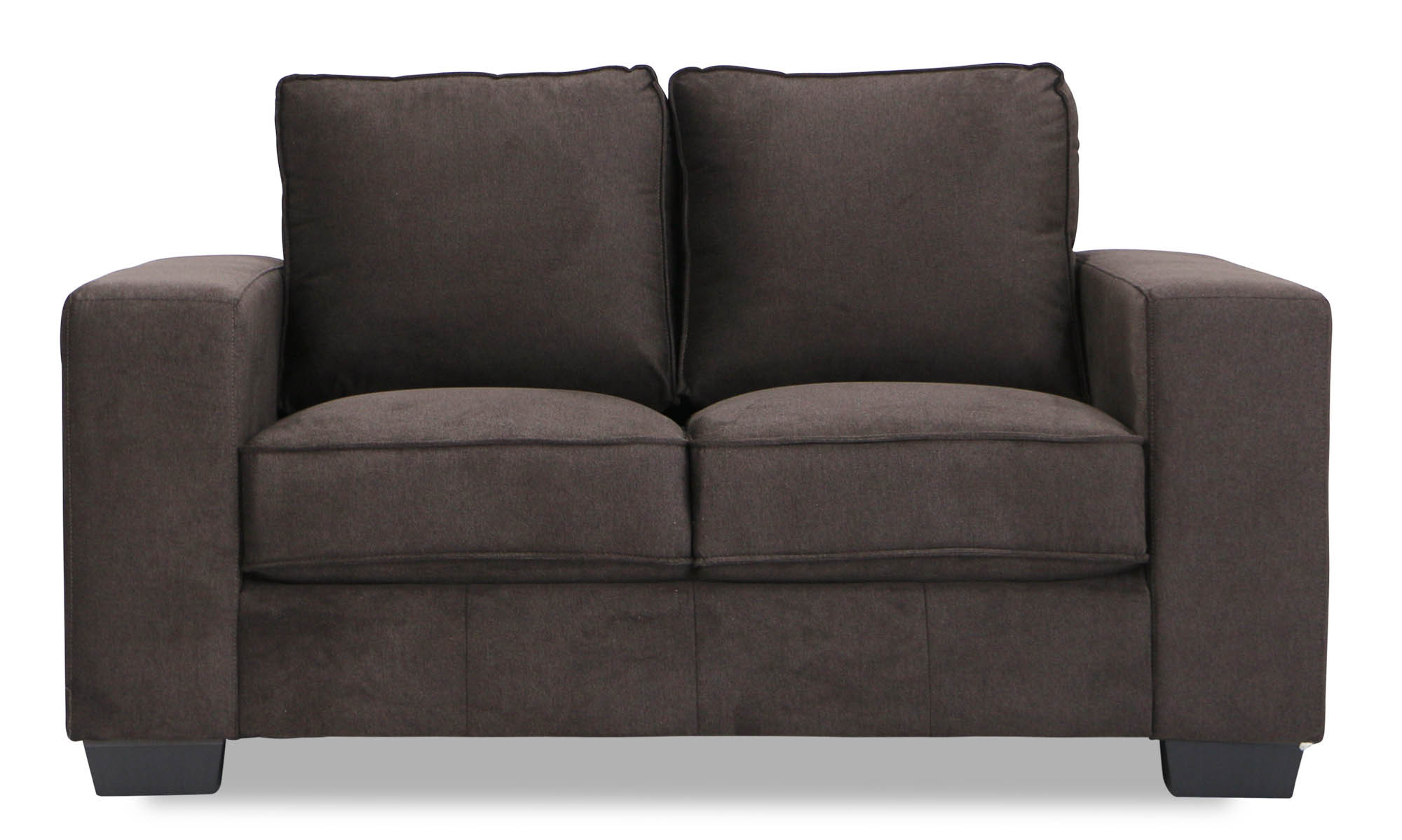 2 seater brown sofa faux leather corner uk verona dark furniture and home décor