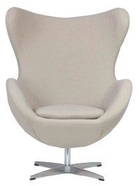Designer Replica Egg Chair in Cream