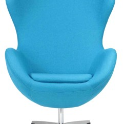 Blue Egg Chair Cost Plus Folding Chairs Designer Replica In Furniture And Home