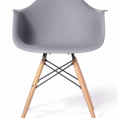 Eames Arm Chair Fun Chairs For Bedrooms Replica Designer Light Grey Furniture