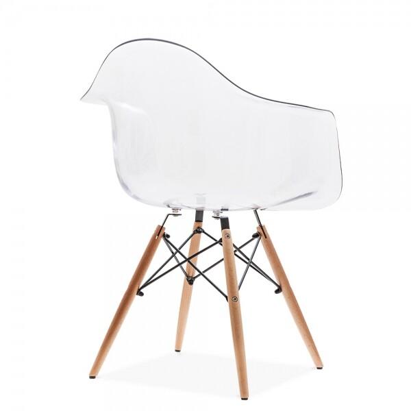Eames Replica Arm Chair Clear  Furniture  Home Dcor