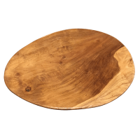 Flat Wooden Plate | Furniture & Home Dcor | FortyTwo