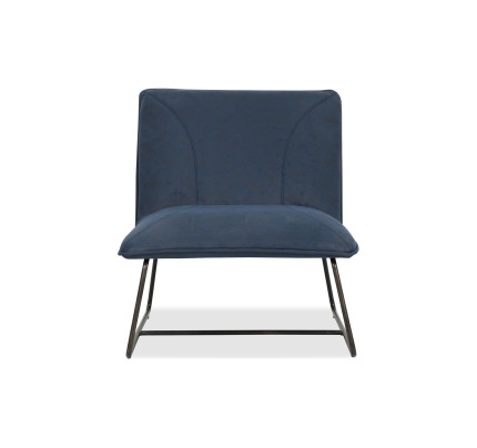 designer chairs for living room white chair buy replica furniture fortytwo antika in midnight blue
