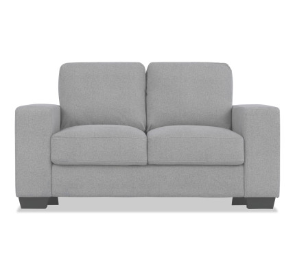2 seater love chair baby sleeping seaters seats sofas sofa beds daybeds living room alexis light grey