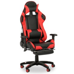 Revolving Chair Second Hand Swivel Reclining Chairs Small Buy Study Work Office Furniture Fortytwo Singapore Javan Racing With Footrest Black Red