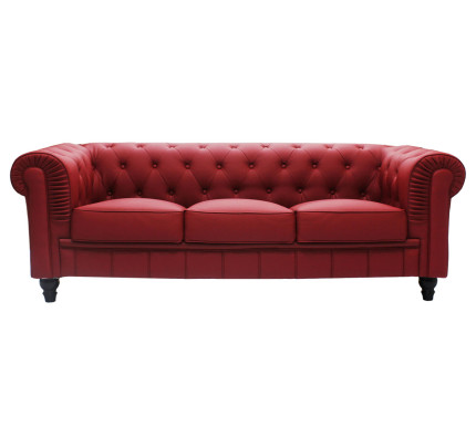 single size sofa bed singapore berkline leather reviews buy sofas l shaped beds recliners couches daybeds benjamin classical 3 seater pu in maroon