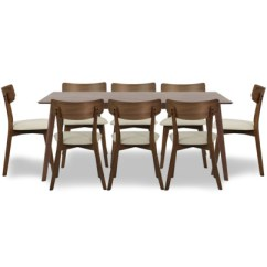 Dinner Table And Chairs West Elm Bliss Chair Buy Dining Sets Room Furniture Fortytwo Singapore Ross Set In Walnut 1 8