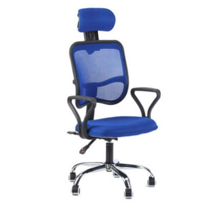 blue office chair faux fur buy study work chairs furniture fortytwo singapore folando