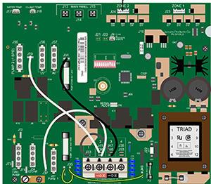 jacuzzi j 365 wiring diagram weg motor single phase replacement circuit board 6600 784 300 2 pump system 2016