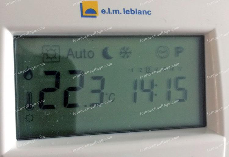 Forum Chauffage Probleme Thermostat Trl 7 26 Rf Ne Declenche Pas Chaudiere Elm Leblanc Acleis