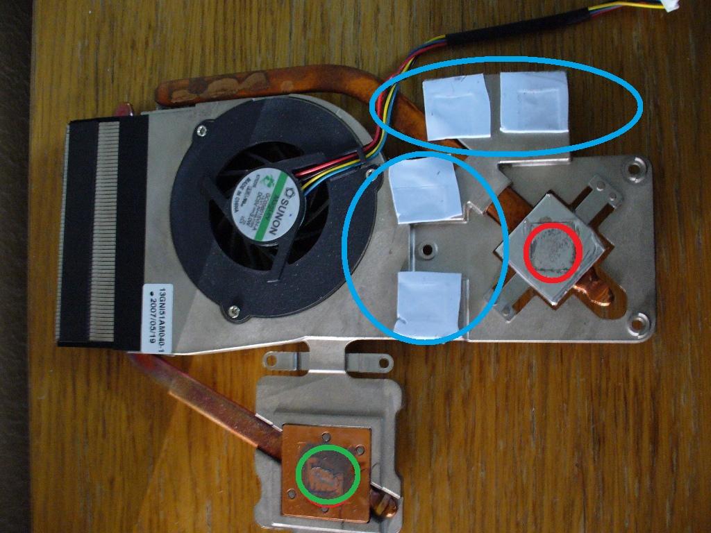 nettoyage et application pate thermique