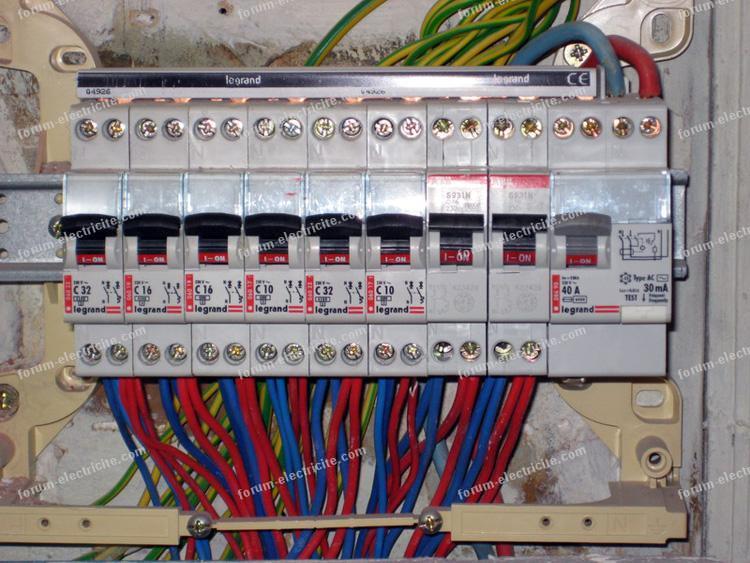 Branchement De Tableau Electrique Schema Electrique Branchement Cablage Schema Branchement