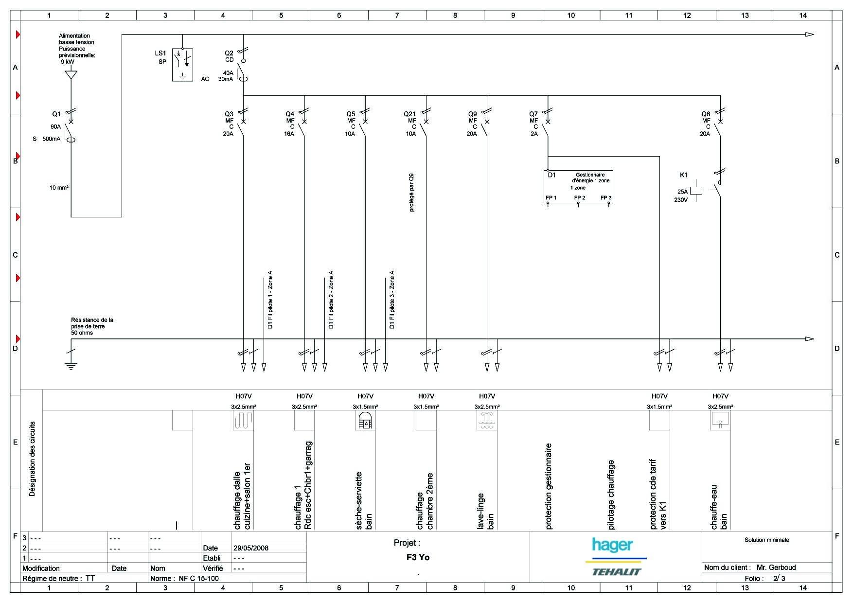 Normes Novelle Installation Lectrique Shma De Cblage