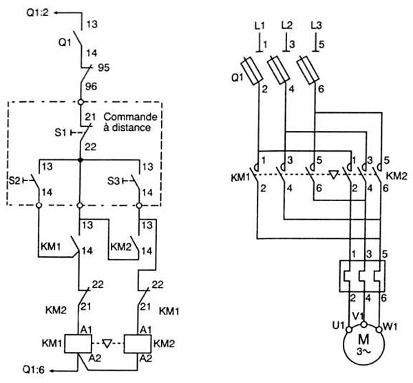 borgward schema cablage moteur