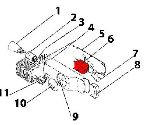 Radiateur schema chauffage: Branchement thermostat