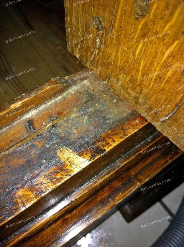 demontage porte armoire ancienne