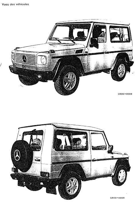 Revue technique Mercedes Classe G type 463 (Page 1
