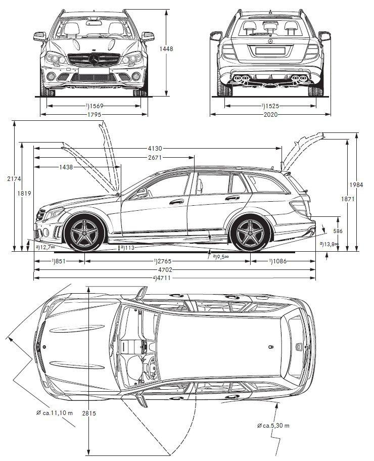 Présentation C 63 AMG Mercedes-Benz Gamme 204 (Page 1