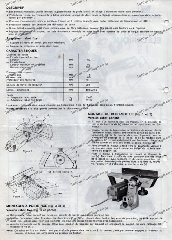Adaptation Rabot Sur Bloc Moteur Peugeot Castor Conseils