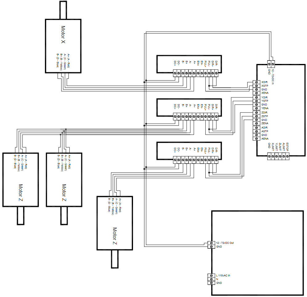 Wiring Diagram Vfd On Huanyang Control VFD Connection