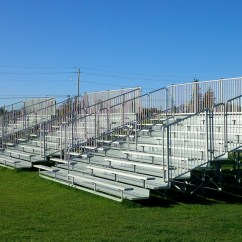 Transport Wheelchair Used Hanging Chair Stand Ikea Aluminum Bleachers | Fixed Seating Outdoor