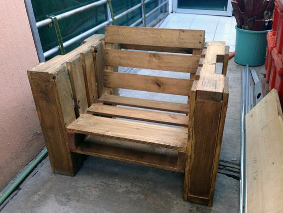 chaise fauteuil en palettes 011