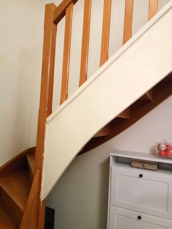Comment Repeindre Facilement Un Escalier En Bois Forumbrico