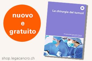 Opuscolo La chirurgia dei tumori