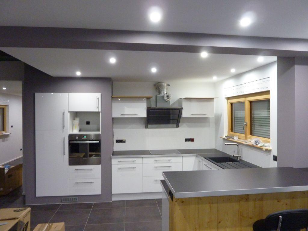construire ilot cuisine