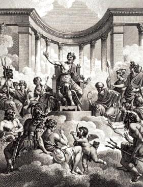 The Olympians by Nicolas-André Monsiau (1754–1837)
