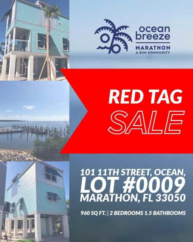 #RedTag Numéro de vente directe 0009 est de 2 chambres / 1.5 m grand en face de la mer ...