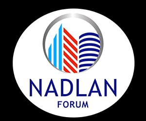 Nadlan Forum - Logo for Site - 300px - Black Background