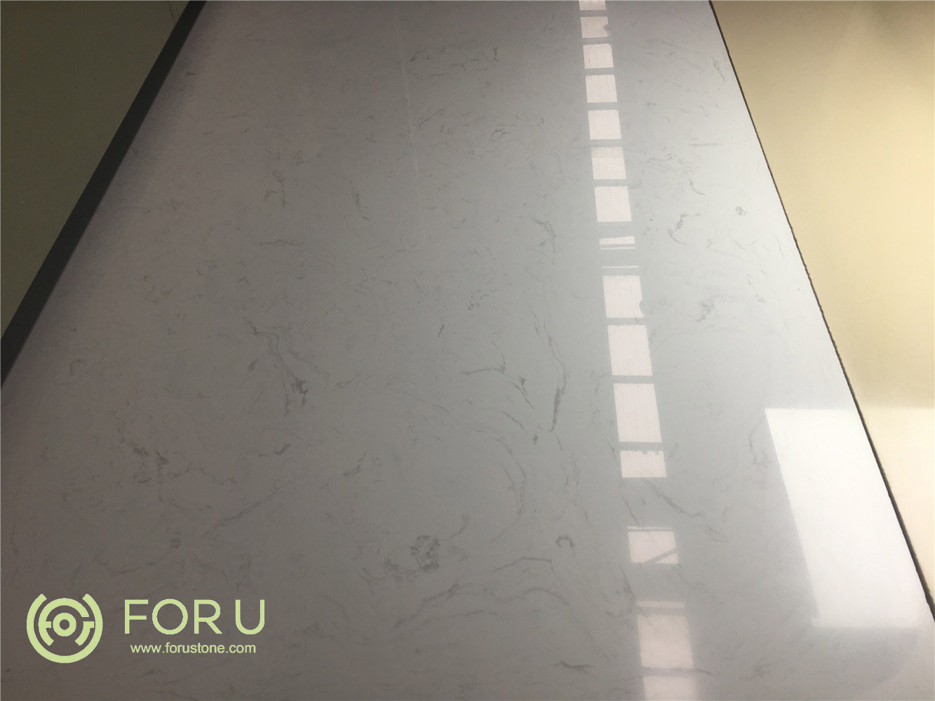 Hot Sell Pigeon White Ariston White Artificial Marble Imitation Marble Slab Manufacturers and Suppliers China - Wholesale Price - ForU