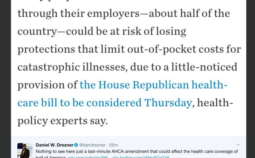 Healthcare Requires Caring