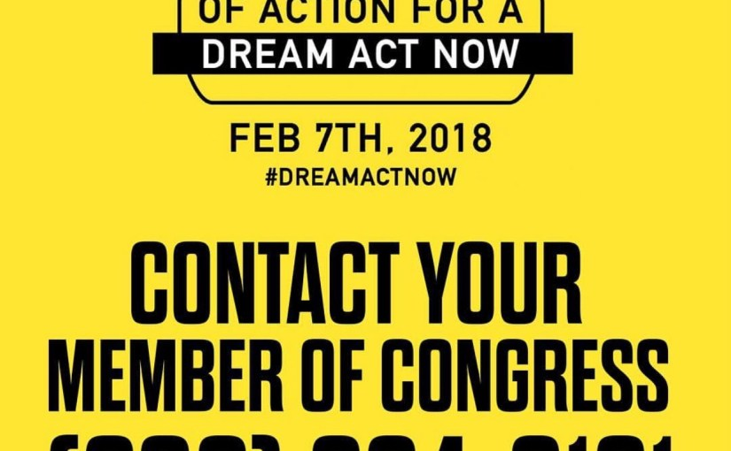 National Day of Action for a Dream Act Now – Wednesday Admin Post