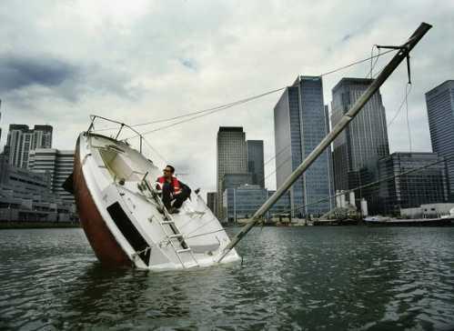 sinking boat 5
