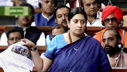 Smiriti Irani_Forward Press