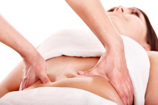 Massage tegen vrouwenproblemen