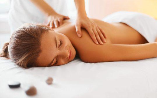 Een massage is duurzame ontspanning