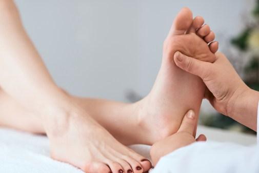 Denk om je voeten!
