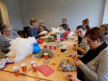 'Maken van Heart Pillows is dankbaar werk'