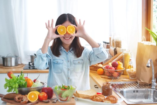Stop met diëten, begin met gezond eten!