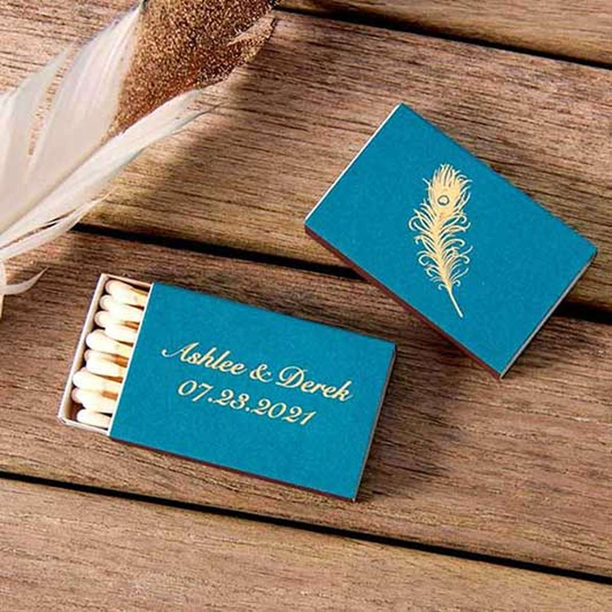 Matches Custom Matchbooks & Wedding Party